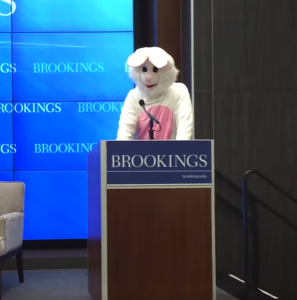 Wells Bennett speaks at Brookings.